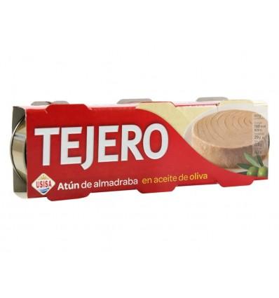 Atún de Alamadraba en Aceite de Oliva Pack3x80g Tejero
