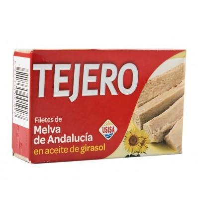 Filetes de Melva de Andalucía en Aceite de Girasol Lata 120g Tejero
