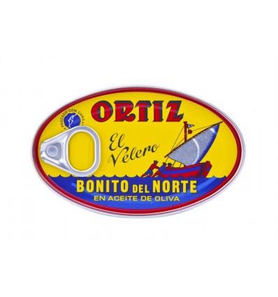 Bonito del Norte en Aceite de Oliva El Velero Lata 82g El Velero Ortiz