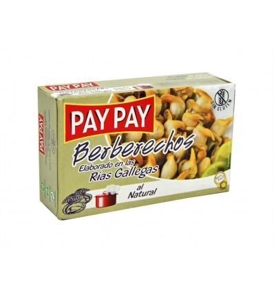 Berberechos al Natural Lata 115g (55-65ud) Pay Pay