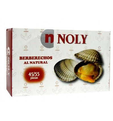 Berberechos al Natural Lata 102g (45-55ud) Noly