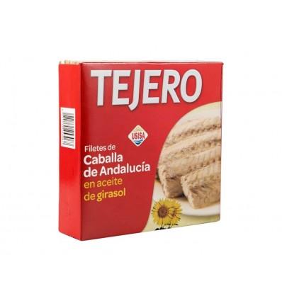 Filete de Caballa en Aceite de Girasol Lata 525g Tejero