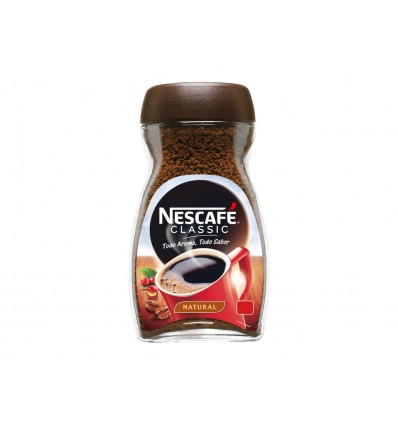 Café Soluble Natural Classic Tarro 50g Nescafé