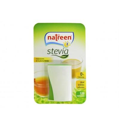 Édulcorant Stevia Pot en verre 120 Comprimidos Natreen