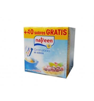 Édulcorant granulé en sachets Boite 50 Sachets (+40 Gratuit) Natreen