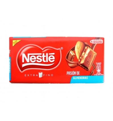 Chocolate con Leche Extrafino Pasión de Almendras Tableta 123g Nestlé
