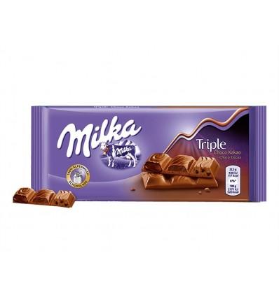 Chocolate Triple Chocolate Tableta 90g Milka