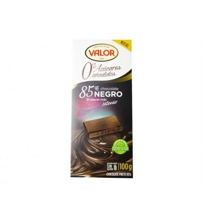 Chocolate Negro 85% Sin azúcar 100g Valor