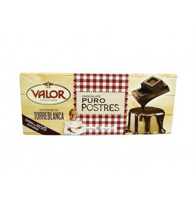 Chocolate Puro para Postres Tableta 200g Valor