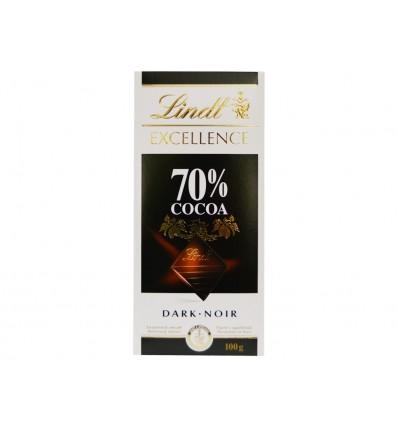 Chocolate Dark Noir 70% Cacao Tableta 100g Lindt
