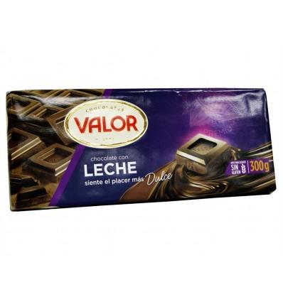 Chocolate con Leche Tableta 300g Valor