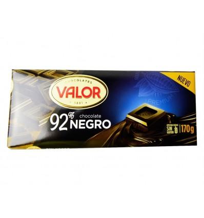Chocolate Negro 92% Tableta 170g Valor