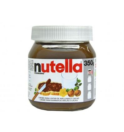 Crema de Cacao y Avellanas Bote 350g Nutella
