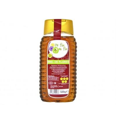 Miel de Flores 0% Goteo Bote 500g De flor en flor