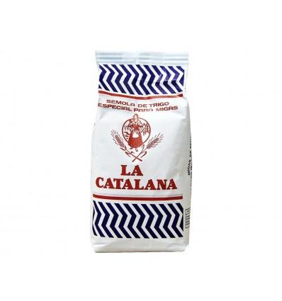 Sémola de Trigo para Migas Paquete 1kg La Catalana