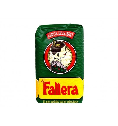 Arroz Redondo Bolsa 500g La Fallera