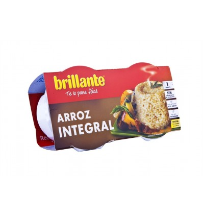 Arroz Integral Pack 2x125g Brillante