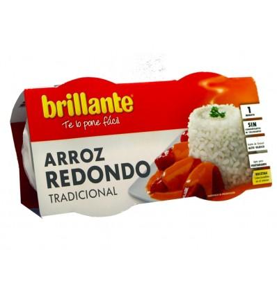 Arroz Redondo Tradicional Pack 2x125g Brillante