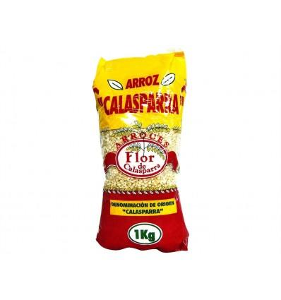 Riz Calasparra DO Sachet 1kg Flor de Calasparra