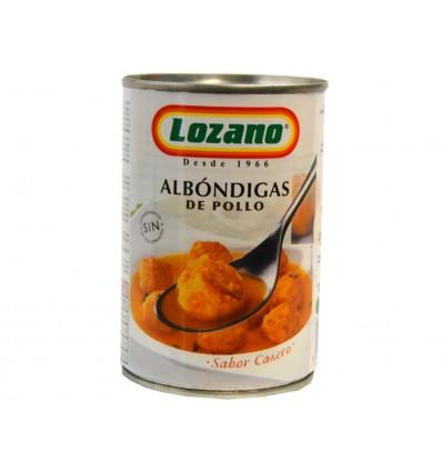 Albóndigas de Pollo Lata 425g Lozano