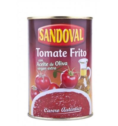 Tomate Frito con Aceite de Oliva Virgen Extra Lata 420g Sandoval