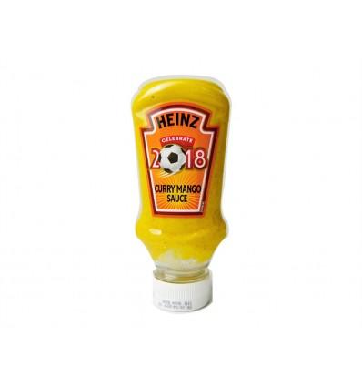 Salsa de Curry y Mango Bote 220ml Heinz