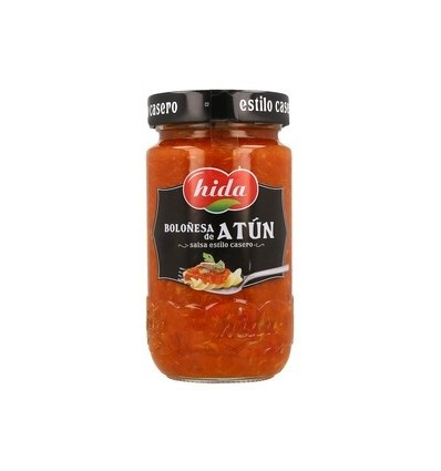 Salsa Boloñesa de Atún Tarro 355g Hida