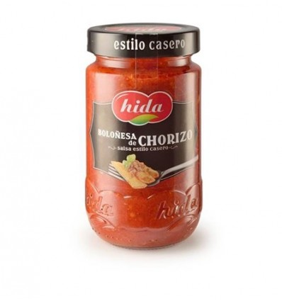 Salsa Boloñesa de Chorizo Tarro 355g Hida