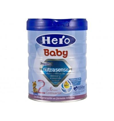 Lait enfants 2 Nutrasense Pot en verre 800g Hero