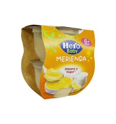 Plátano y Yogur Pack 2x130g Hero