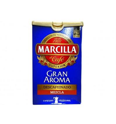 Café Molido Descafeinado Mezcla Paquete 200g Marcilla
