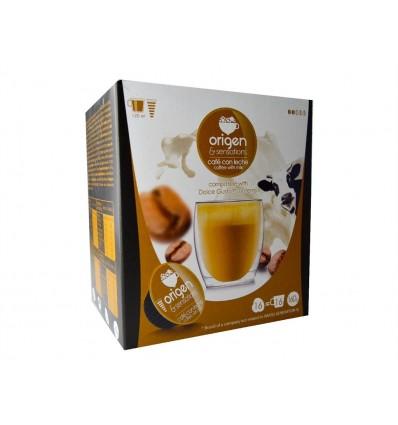 Café con Leche Caja 16 Cápsulas Origen