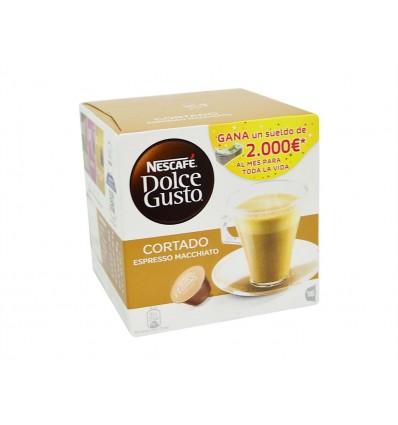 Café Dolce Gusto Cortado Espresso Macchiato Caja 16 Cápsulas Nescafé
