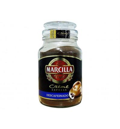 Café Soluble Descafeinado Tarro 200g Marcilla Creme Express
