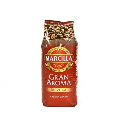 Café en Grano Mezcla Paquete 1kg Marcilla
