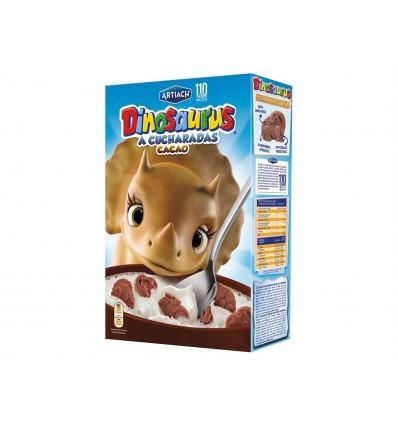 Cereales Dinosaurus a Cucharadas Cacao Caja 350g Artiach