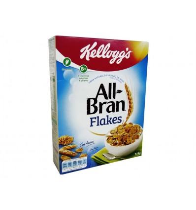 Cereales All Bran Flakes Caja 375g Kellogg´s