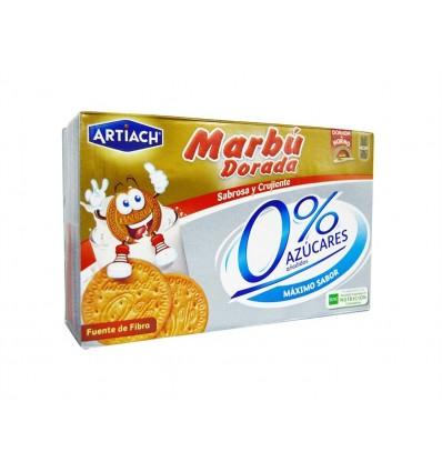 Galletas Marbú Dorada 0% Azúcar Añadido Caja 400g Artiach