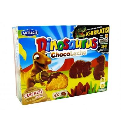Galletas Dinosaurus de Chocolate con Leche Caja 340g Artiach
