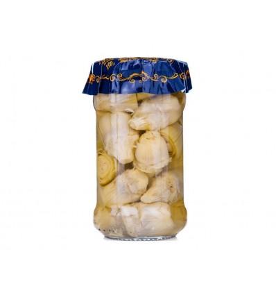 Corazones de Alcachofa Tarro 290g 16/25 frutos Zalea