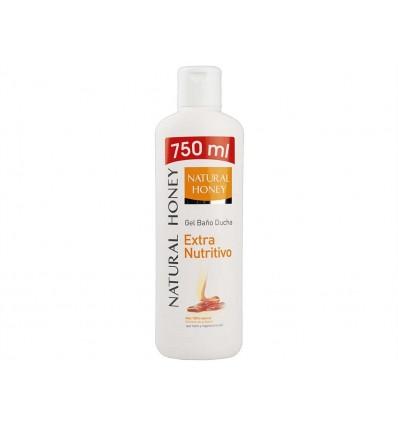 Gel Extra Nutritivo con Miel 100% Natural Natural Honey Botella 750ml