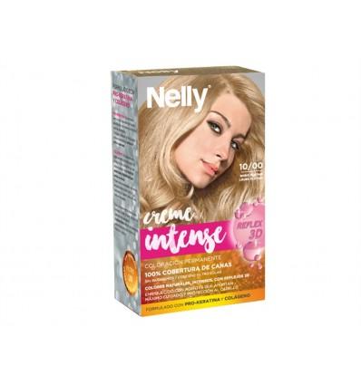 Tinte Rubio Platino 10/00 Creme Intense Nelly Caja 1 unidad