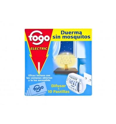 Insecticida Eléctrico para Pastillas Fogo Difusor + 10 Pastillas