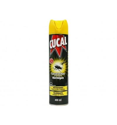 Insecticida Instantáneo para Cucarachas y Hormigas Cucal Spray 400ml