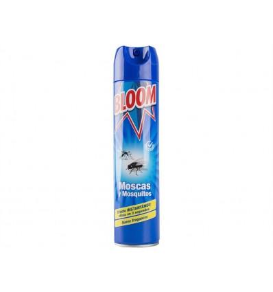 Insecticida Instantáneo para Moscas y Mosquitos Bloom Spray 600ml
