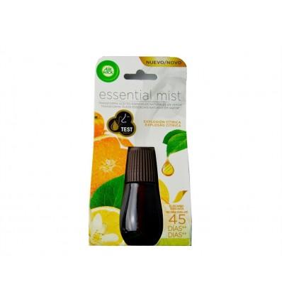 Recambio Ambientador Essential Cítrico Botella 1l Air Wick