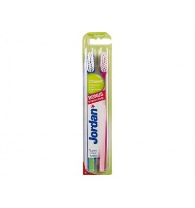 Cepillo Dental Suave Classic Jordan Blister 2 unidades