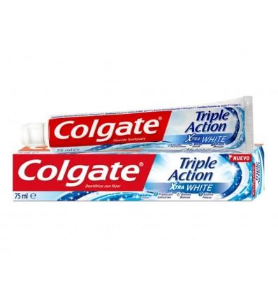 Dentifrico Triple Action Xtra White Colgate Tubo 75ml