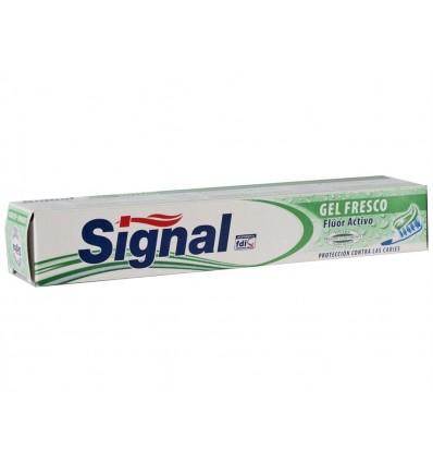 Dentifrico Gel Fresco Anticaries Fluor Activo Signal Tubo 75ml