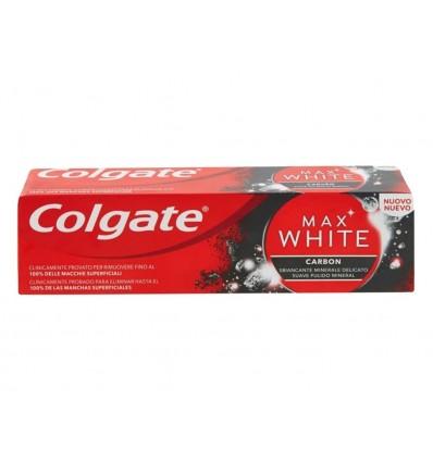 Dentifrico Max White Carbon Colgate Bote 75ml